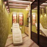 Фото 41: Плиточный пол в салоне красоты