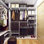 Фото 115: Пример планировки гардеробной