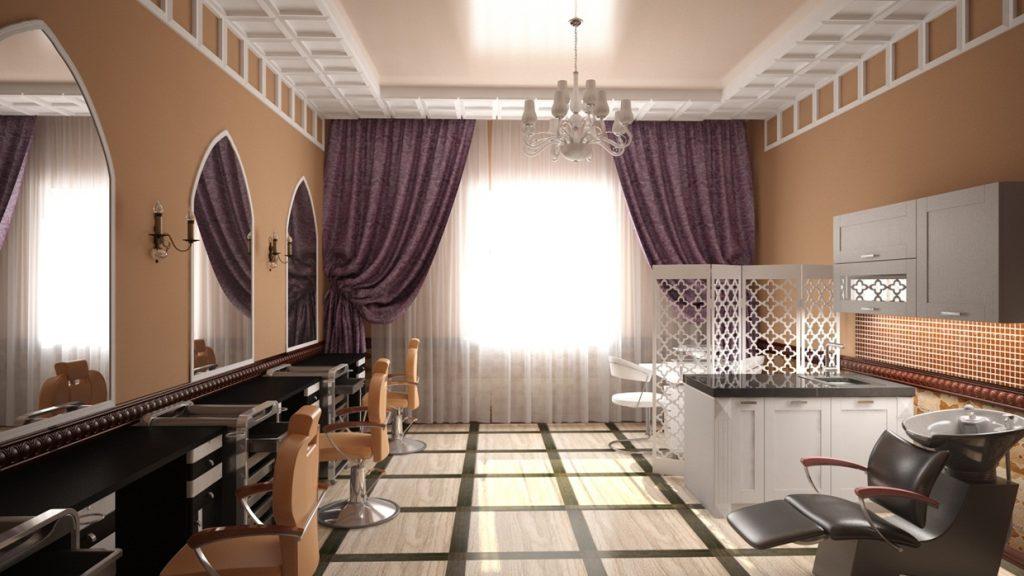 Салон красоты в восточном стиле