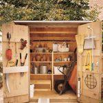 Фото 34: Сооружение для инструментов