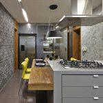 Фото 132: Современные обои на кухню