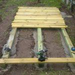 Фото 50: Строительство фундамента детского домика
