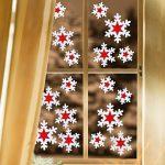 Фото 35: Украшение окон к Новому году