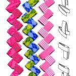 Фото 78: Закладка плетенка из бумаги шема