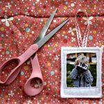 Фото 64: Рамка для фото на елку