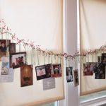 Фото 12: Гирлянда из новогодних открыток на окно