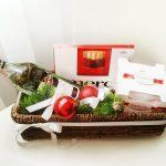 Фото 36: Подарочная корзинка с конфетами
