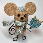 Фото 52: Мышка из пробок