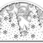 Фото 41: Новогодний шаблон на верхнее окно