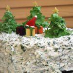 Фото 96: Новогодний салатный торт
