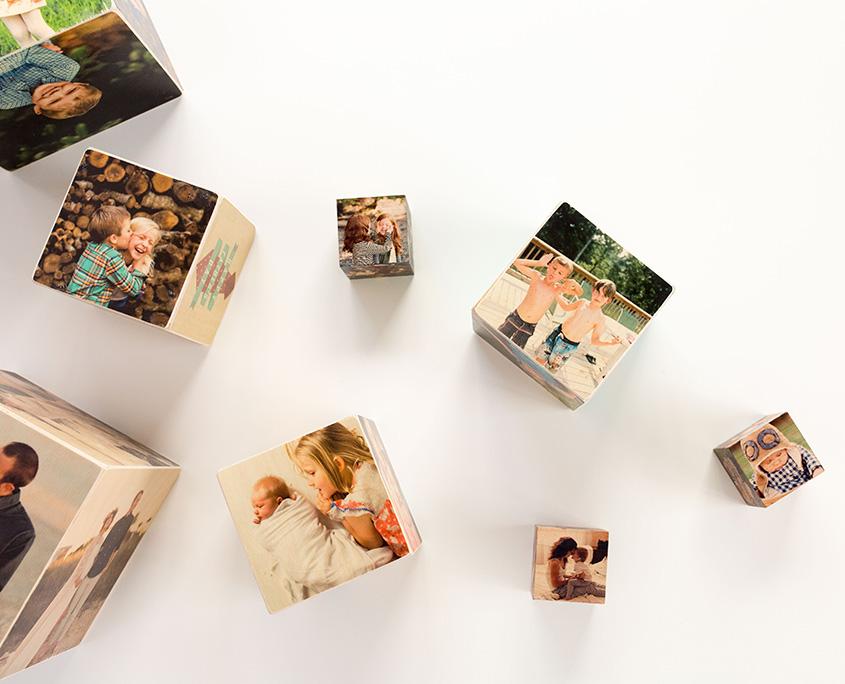 Фотокубики из бумаги