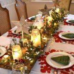 Фото 24: Подсвечники из банок на новогоднем столе