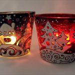 Фото 47: Подсвечники из стаканов