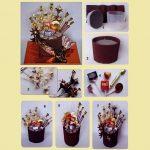Фото 32: Шоколадный букет из конфет