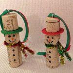 Фото 51: Снеговики из пробок