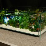 Фото 61: Стол-аквариум