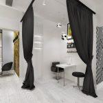 Фото 53: Светлый дизайн салона красоты
