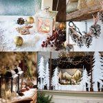 Фото 63: Новогоднее украшение дома