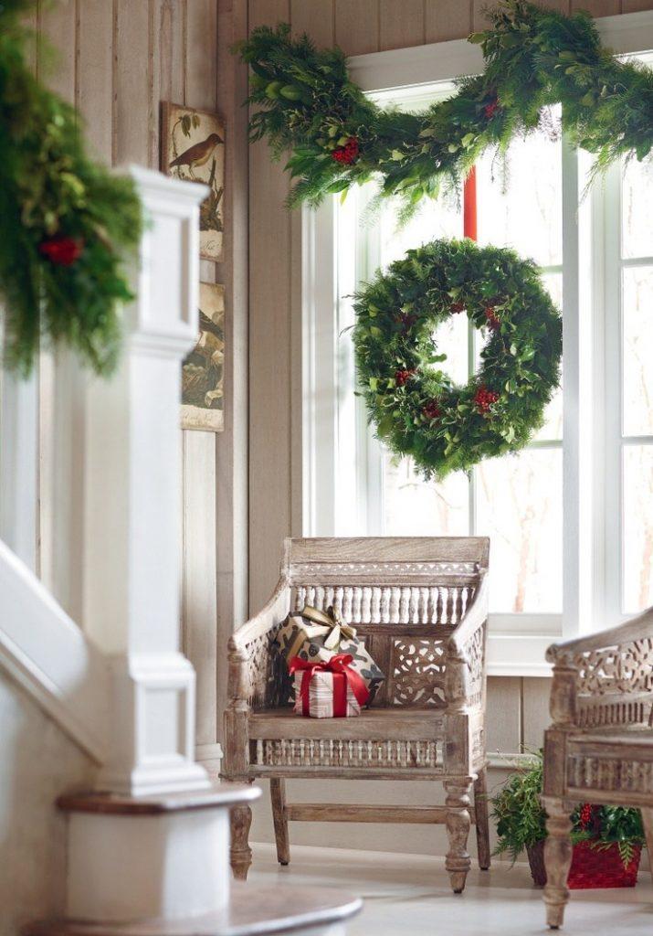 Как украсить комнату на Новый год 2019?