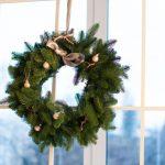 Фото 10: Рождественский венок на окно