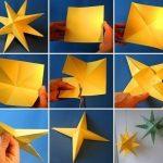 Фото 71: Звезды из бумаги