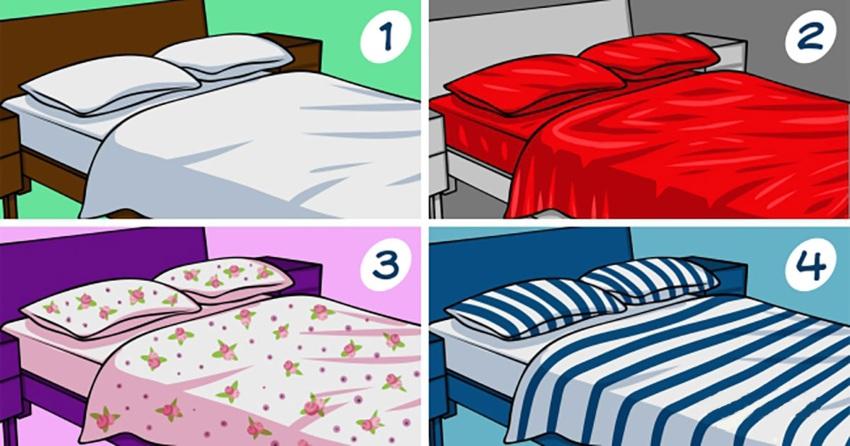 Тест. Выбор постельного белья и характер