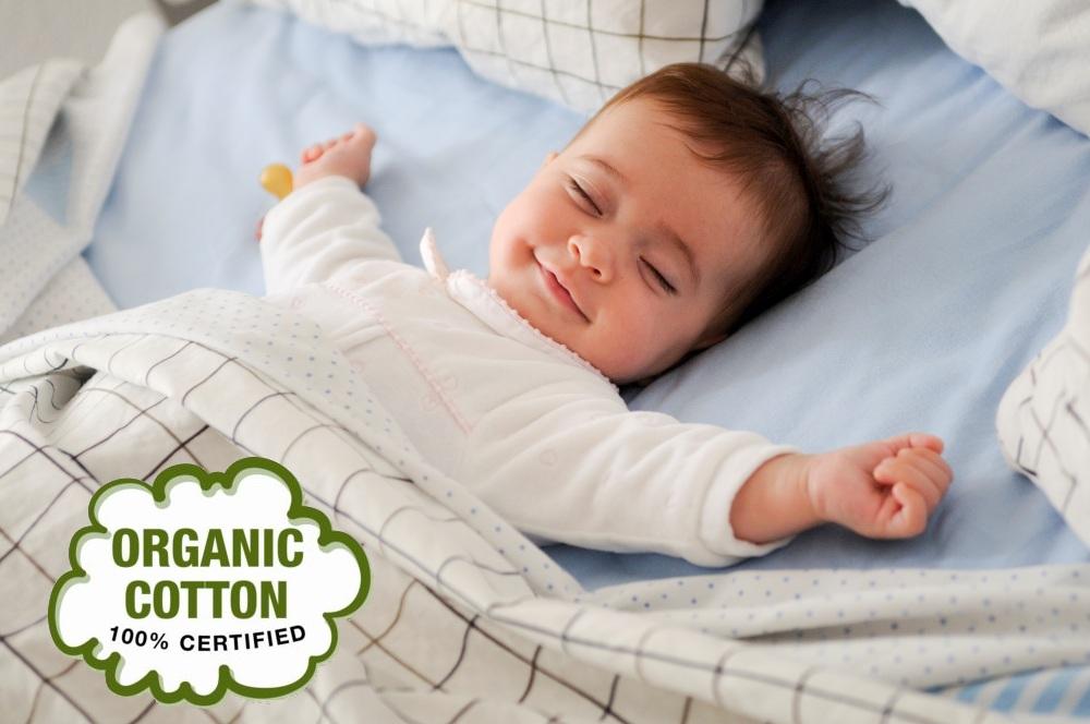 Постельное белье из хлопка для малышей