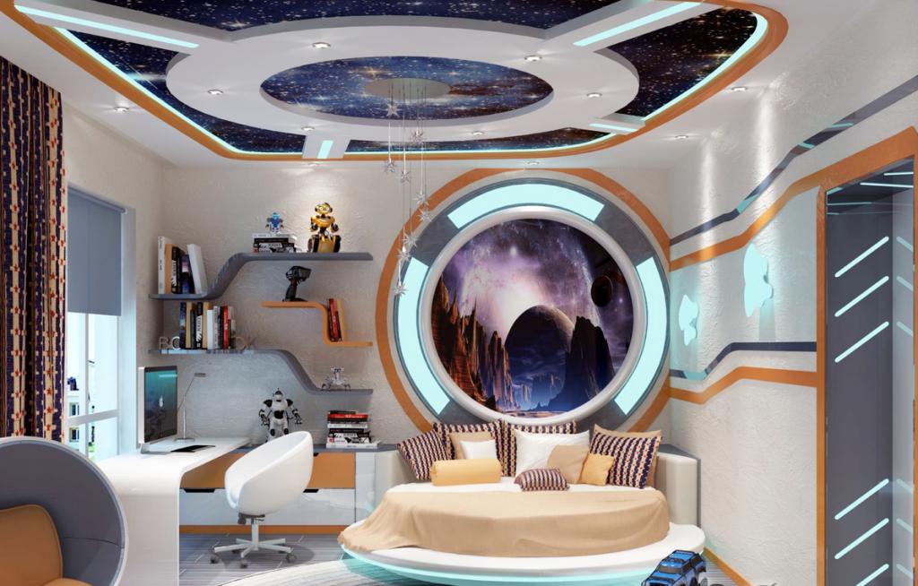 Детская—космический корабль