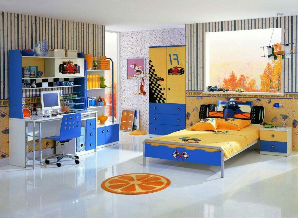Мебель для мальчика-автомобилиста