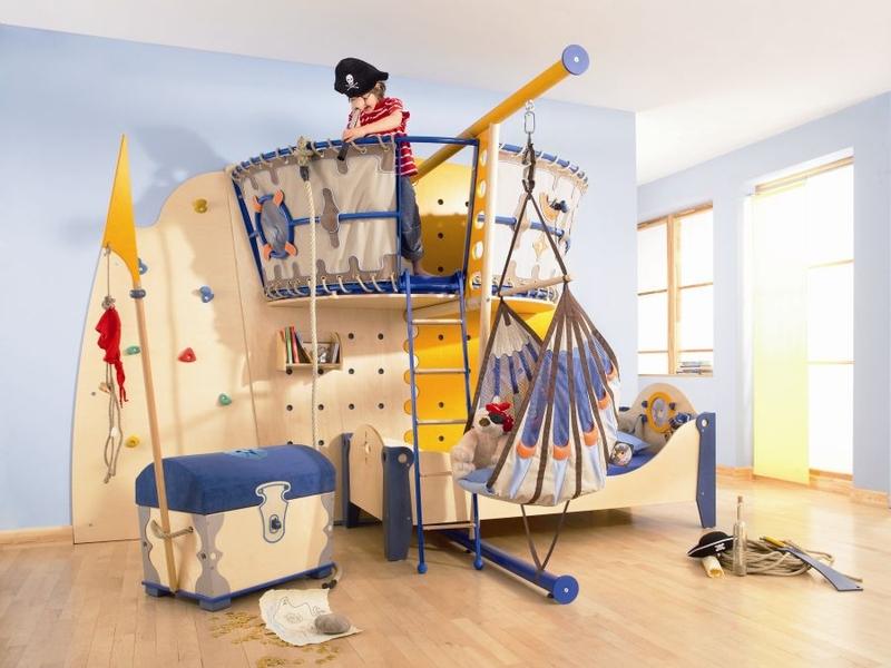 Пиратский модуль в детской