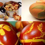 Фото 82: Натуральное украшение яиц