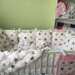 Фото 34: Постельное белье для новорожденных с узором