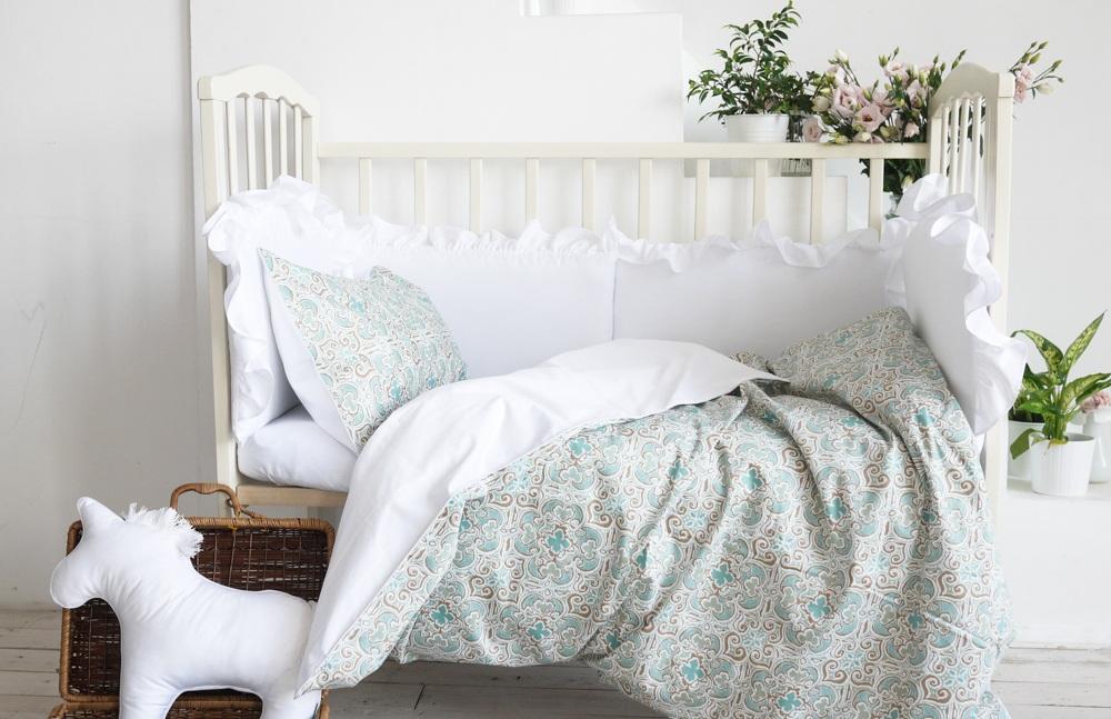 Шелковое постельное белье для малышей