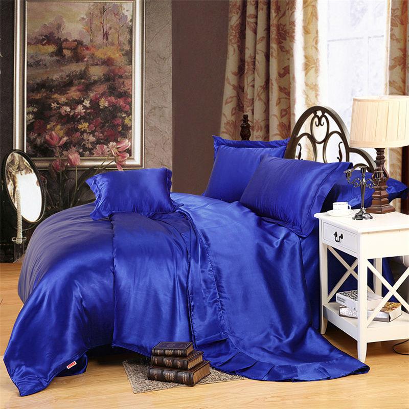 Шелковое постельное белье и цвет