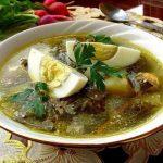 Фото 32: суп из щавеля