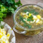 Фото 34: щавелевый суп