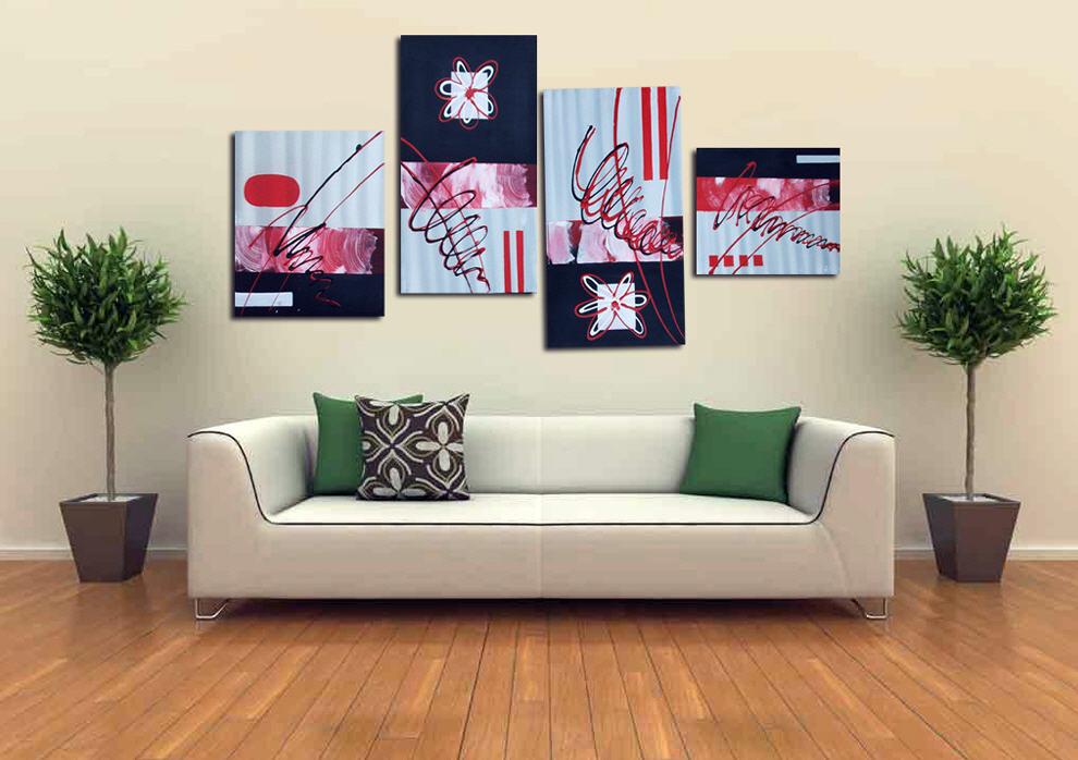 Оригинальные картины в домашнем интерьере