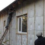 Фото 38: Утепление деревянного дома снаружи
