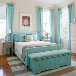 Фото 83: Бирюзовая кровать