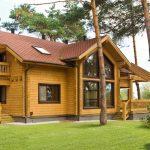 Фото 55: деревянные дома под ключ