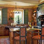 Фото 50: Темные тона в кухне