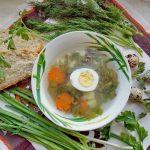 Фото 39: рецепт зеленого борща