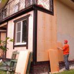 Утепление стен частного дома снаружи и внутри