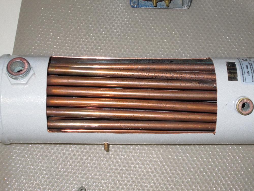 Устройство электрического котла с тэнами