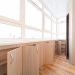 Фото 6: Установка шкафов на балконе