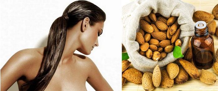 Польза миндального масла для волос и ресниц