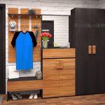 Фото 3: шкаф в прихожей