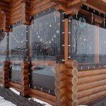 Фото 14: шторы для оформления дома снаружи