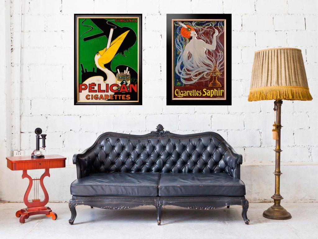 Современные картины и постеры в интерьере