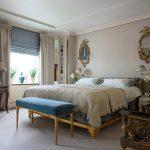 Фото 16: Римские шторы в спальне